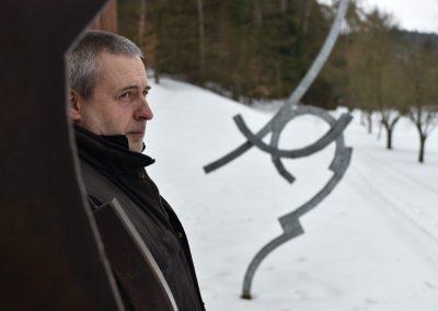 Florian Schaumberger: Über die Geometrie des Stahls und die Freiheit, die dahinter liegt