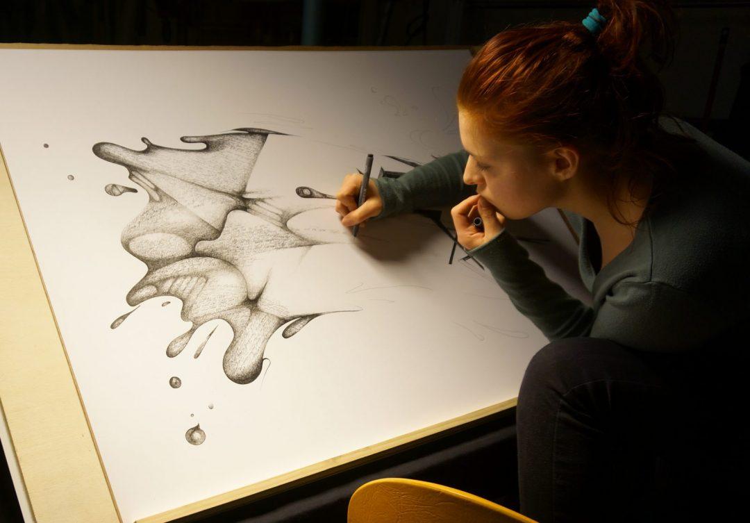 """Judith Kerndl: """"Man muss mit einem Bild leben, um es begreifen zu können."""""""