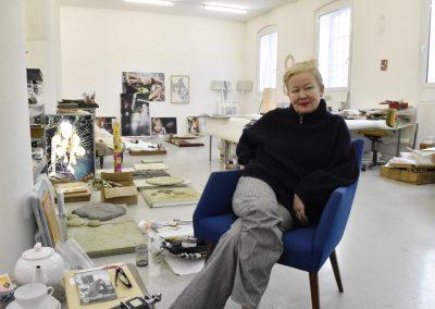 Atelierbesuch bei Iris Andraschek