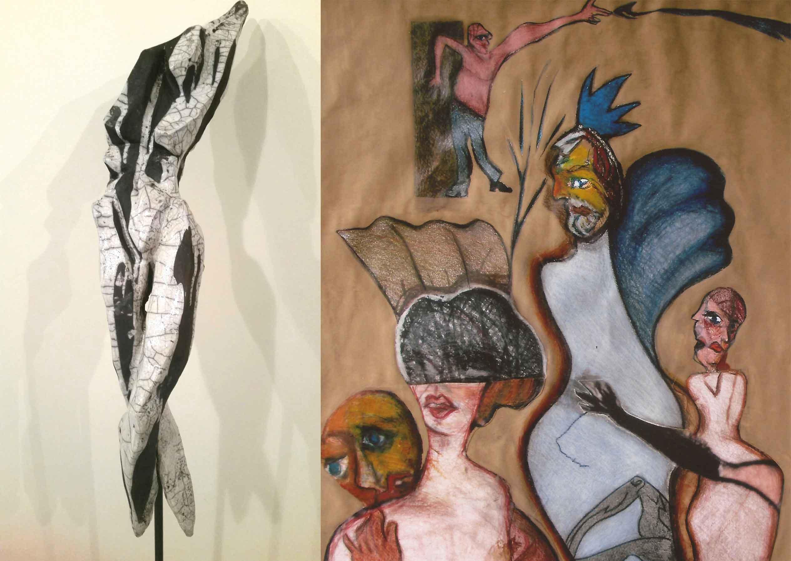 NÖ Waldviertel Galerie Kunst - Das war: Gerti Hopf & Peter Dwořak