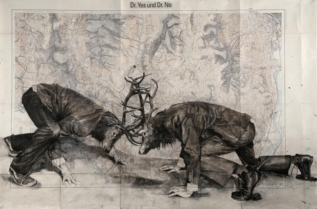 NÖ Waldviertel Galerie Kunst - NöArt: BUCHSTÄBLICH BILDLICH – Über das Lesen von Bildern und das Malen mit Schrift