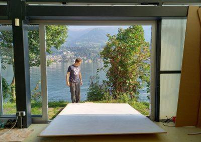 """Stefan Reiterer: """"Malerei – das ist nicht nur ein Bild flach an der Wand."""""""
